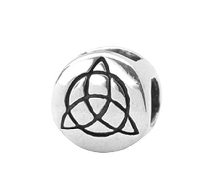 Prerogatives Sterling Celtic Trinity Bead