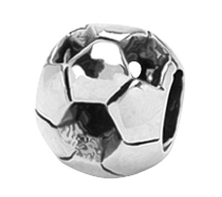 Prerogatives Sterling Soccer Ball Bead