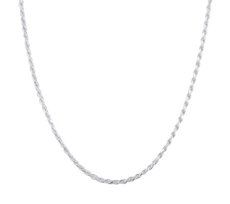 "UltraFine Silver 22"" Rope Chain, 15.0g"
