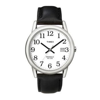 Timex Men's Silvertone Analog Casual Watch