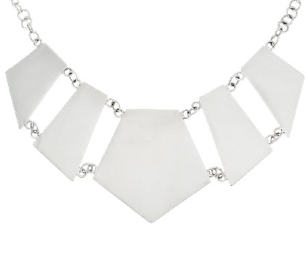 Dominique Dinouart Sterling Reversible Necklace, 42.5g