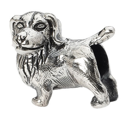Prerogatives Sterling Golden Retriever Bead