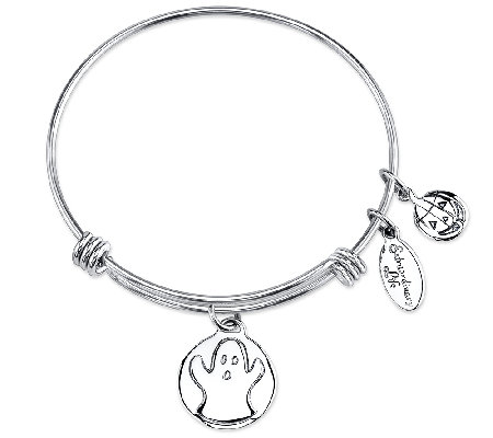 Extraordinary Life Sterling Ghost AdjustableBangle