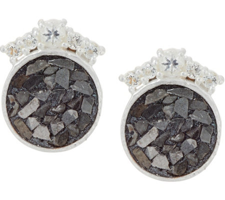 Shana Gulati Diamond Slice & Gemstone Ophelia Earrings