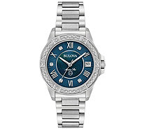 Women's Marine Star Diamond Accent Bracelet Watch - J375127