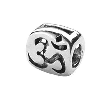 Prerogatives Sterling Om Symbol Bead