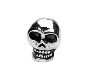 Prerogatives Sterling Skull Bead - J108728