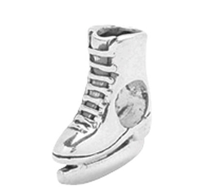 Prerogatives Sterling Ice Skate Bead