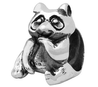 Prerogatives Sterling Raccoon Bead - J110028