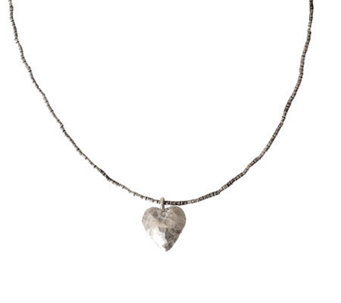 "Novica Artisan Crafted Sterling ""Simple Lover""Necklace - J310028"