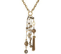Joan Rivers Private Collection Crystal Tassel Necklace - J349628