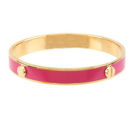 C. Wonder Signature Screw Enamel Bangle