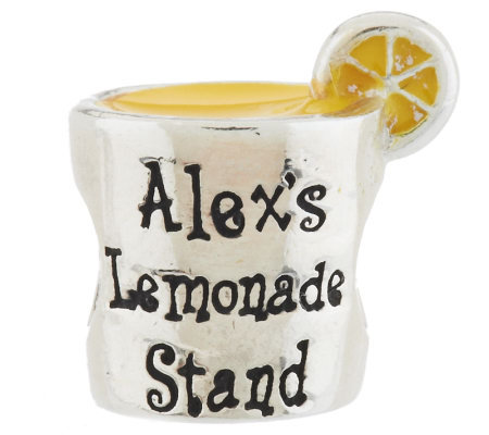 Prerogatives Sterling Alex's Lemonade Stand Bead