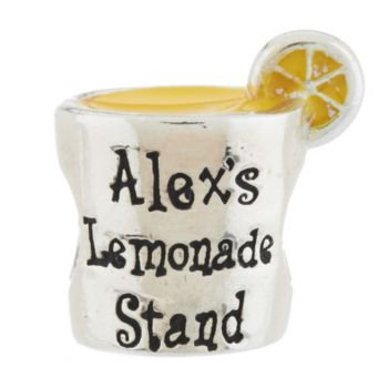 Prerogatives Sterling Alex's Lemonade Stand Bead