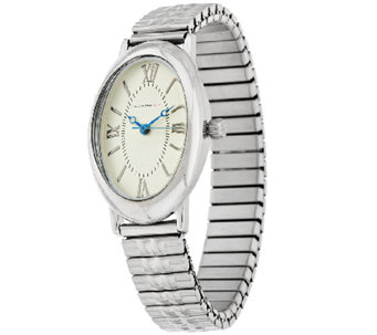 Isaac Mizrahi Live! Oval Case Expansion Watch - J293029