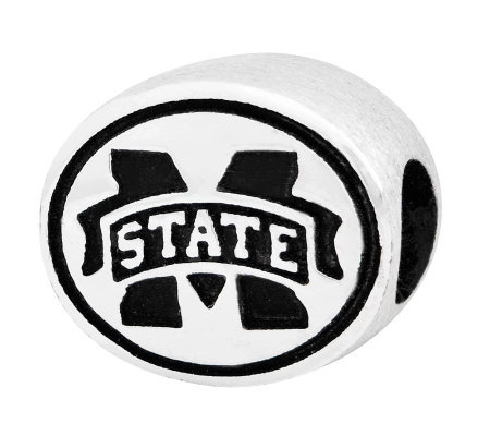 Sterling Silver Mississippi State Bead