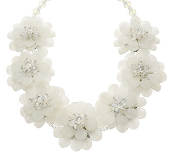 """As Is"" Joan Rivers Perfect Petals 20-1/2"" Necklace w/ 3"" Extender - J327829"