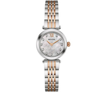 Bulova Diamond Accent Women's Bracelet Watch - J343129