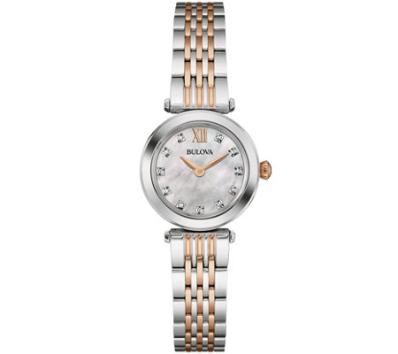Bulova Diamond Accent Women's Bracelet Watch