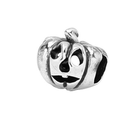 Prerogatives Sterling Jack-o'-Lantern Bead