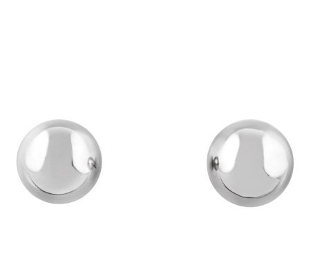 Stainless Steel 8.0mm Ball Stud Earrings