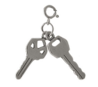Sterling Set of Keys Charm - J113630
