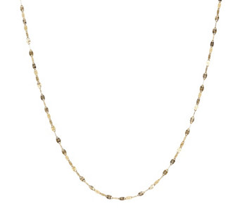 "Milor 20"" Polished Sunray Chain, 14K Gold - J307830"