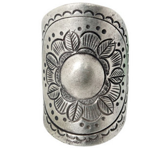 "Novica Artisan Crafted Sterling ""Sunflower Blooming"" Ring - J310030"