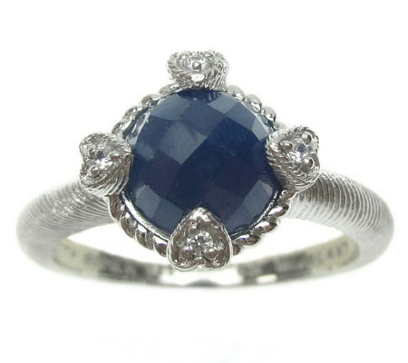 Judith Ripka Sterling Birthstone Ring
