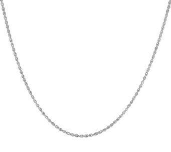 "VicenzaGold 36"" Rope Chain Necklace 14K, 1.5g - J320330"