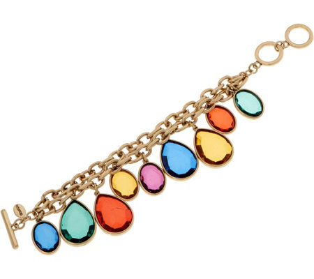 Linea by Louis Dell'Olio Confetti Double Row Bracelet