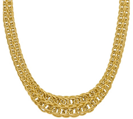 14K Gold Figure-Eight Link Necklace, 20.7g
