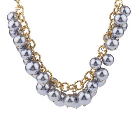 """As Is"" Kenneth Jay Lane's Fashion Show Bead Necklace"