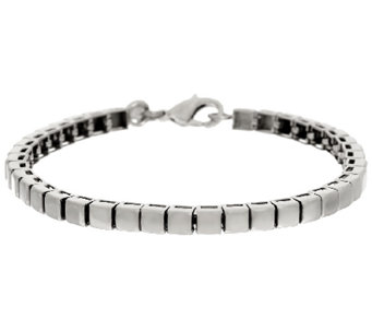 Stainless Steel High Polished Line Bracelet - J319631