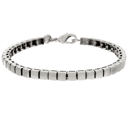 Stainless Steel High Polished Line Bracelet