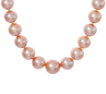 "Honora 14K Gold 12.0mm - 15.0mm Ming Cultured Pearl 20"" Necklace"