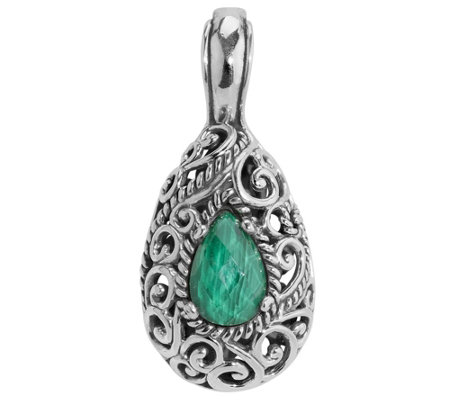 Carolyn Pollack Signature Malachite Doublet Enhancer