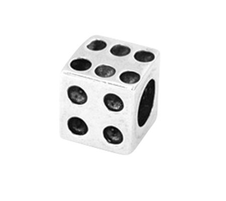 Prerogatives Sterling Dice Bead