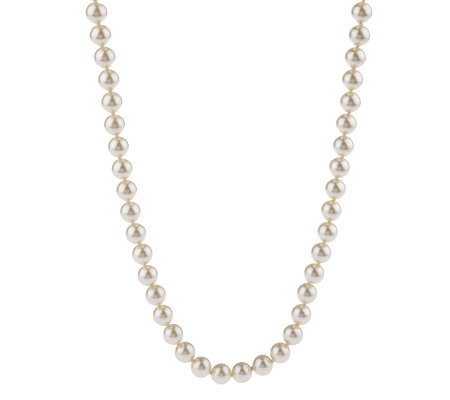 "Joan Rivers 75"" Simulated Pearl Necklace"