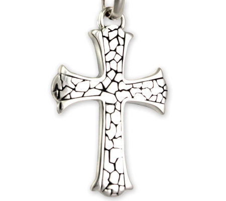"Novica Artisan Crafted ""Loyalty"" Cross Pendantw/Chain"