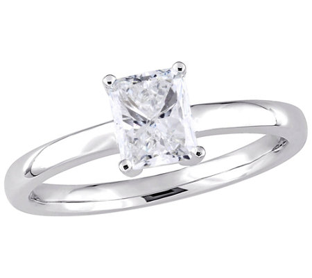 Affinity 14K Gold 1.0 cttw Radiant-Cut DiamondSolitaire Ring