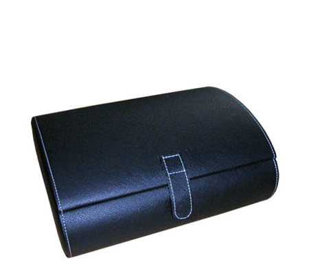 Mele Parker Black Watch Case with Watch Cushions