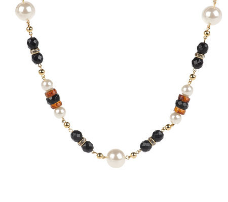 "Janie Bryant MOD Timeless Bead 36"" Necklace"
