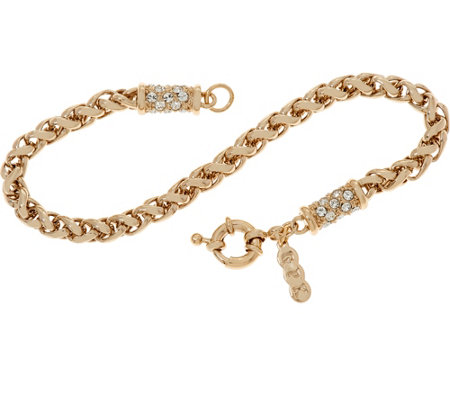 Grace Kelly Collection Wheat Chain Bracelet