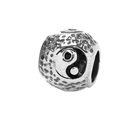 Prerogatives Sterling Yin Yang Bead