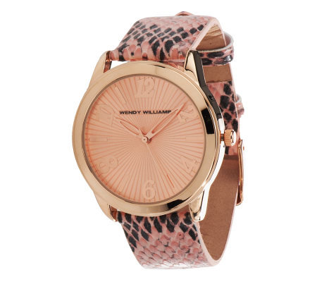 Python Pattern Strap Watch