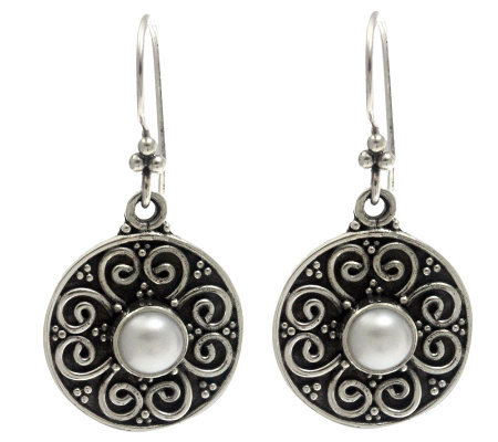 Novica Artisan Crafted Sterling 'Spring Blossoms' Earrings