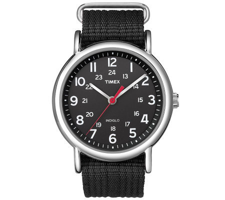 Timex Men's Black Weekender Watch