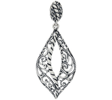 Carolyn Pollack Sterling Silver Signature Design Enhancer