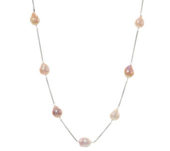 "Honora Ming 11.0mm - 13.0mm Cultured Pearl 30"" Adjustable Necklace - J329334"